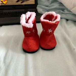 Cute American girl doll sparkley boots!